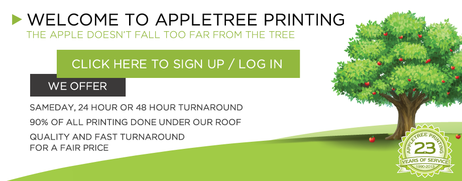 Appletree Printing - The Apple Doesn't Fall Too Far From the Tree