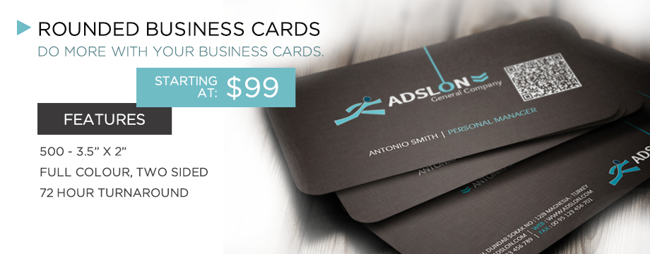 Appletree Printing - Business Card Banner